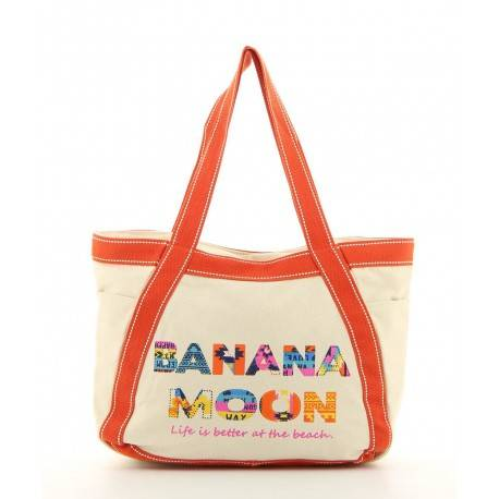 Banana Moon - Sac shopping bicolore