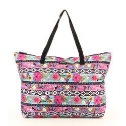 Sac shopping multicolore - Banana Moon
