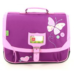 Tann's - cartable papillon 38 cm (t5butca38)