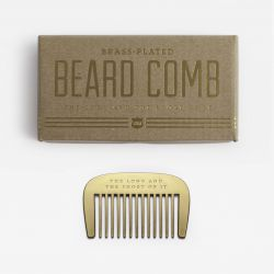 Men's Society - BRASS BEARD COMB (IZ4001)