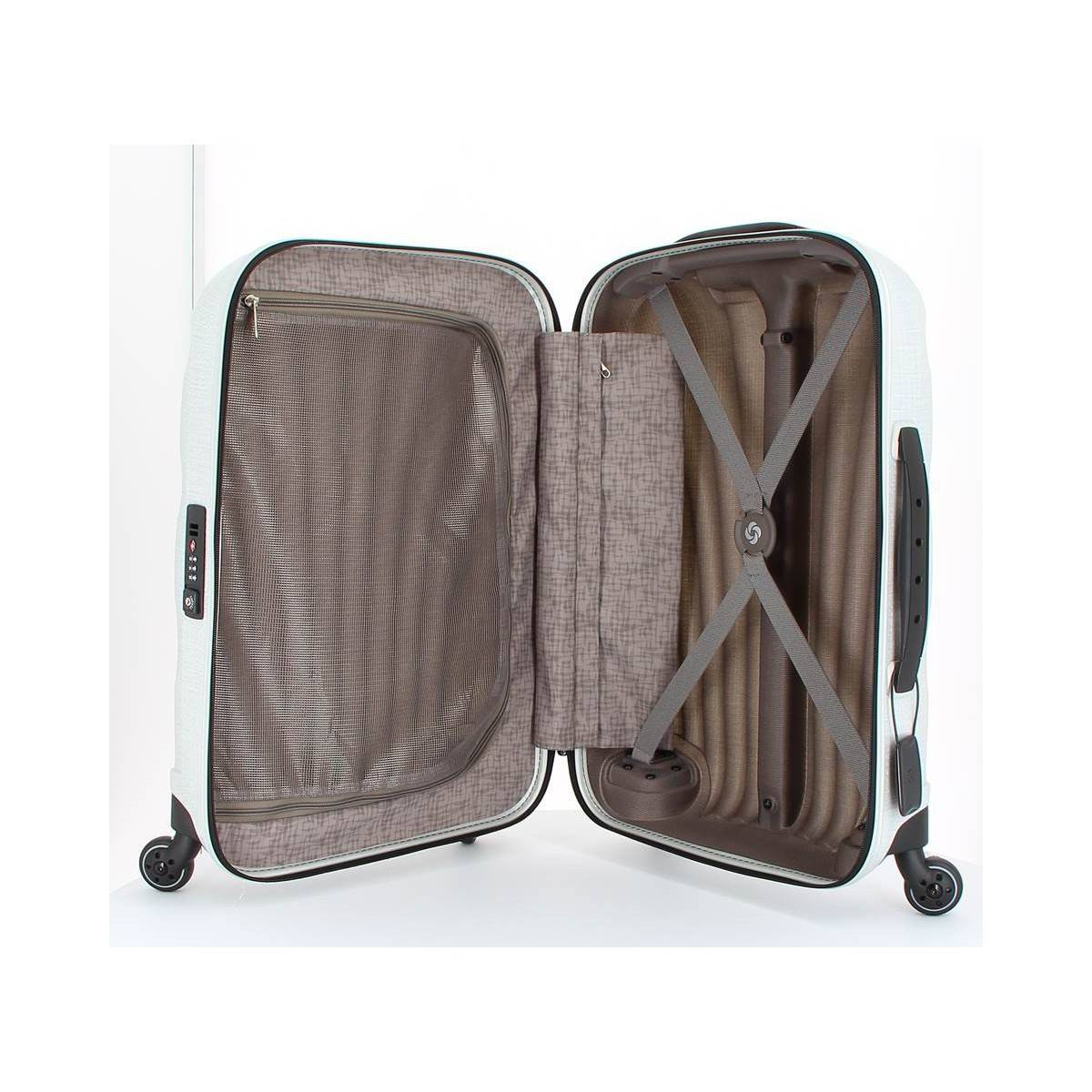 samsonite valise rigide taille cabine lite locked 57356. Black Bedroom Furniture Sets. Home Design Ideas