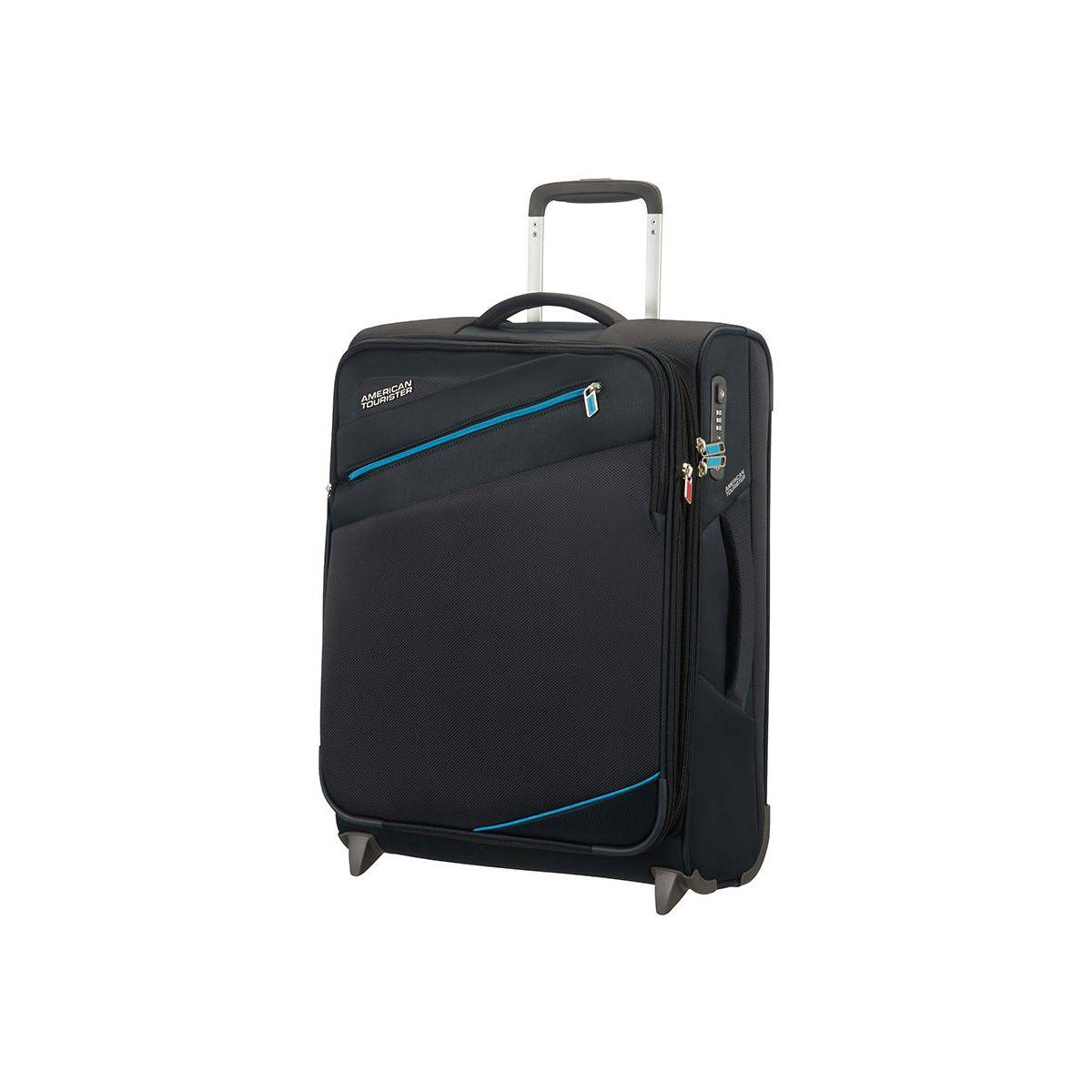 american tourister valise cabine upright s extensible mixte fermeture zipp e 74048. Black Bedroom Furniture Sets. Home Design Ideas