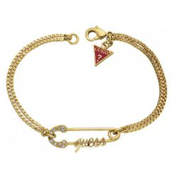 Guess - Bracelet doré épingle (UBB80811)