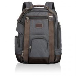 Tumi - Sac à dos Alpha Bravo Brief Pack® de luxe Shaw (222389)