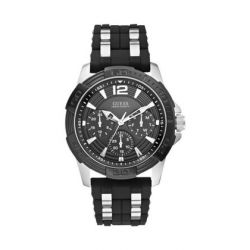 Guess - Montre homme silicone (W0366G1)