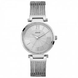 Guess - Montre femme Ladies dress acier (W0638L1)