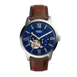 Fossil - Montre Automatic cuir marron (me3110)