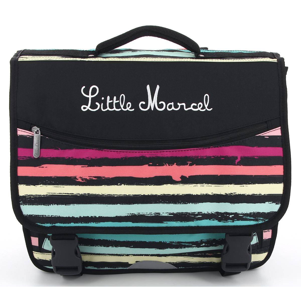 Cartable little marcel 3 compartiments raimonde enfant fermoir raimonde - Code promo little marcel frais de port ...