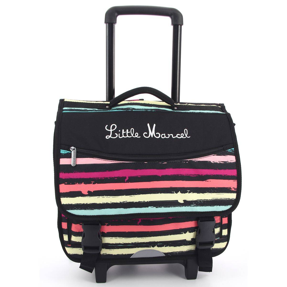 Little marcel cartable roulettes rachida fermoir rachida - Code promo little marcel frais de port ...