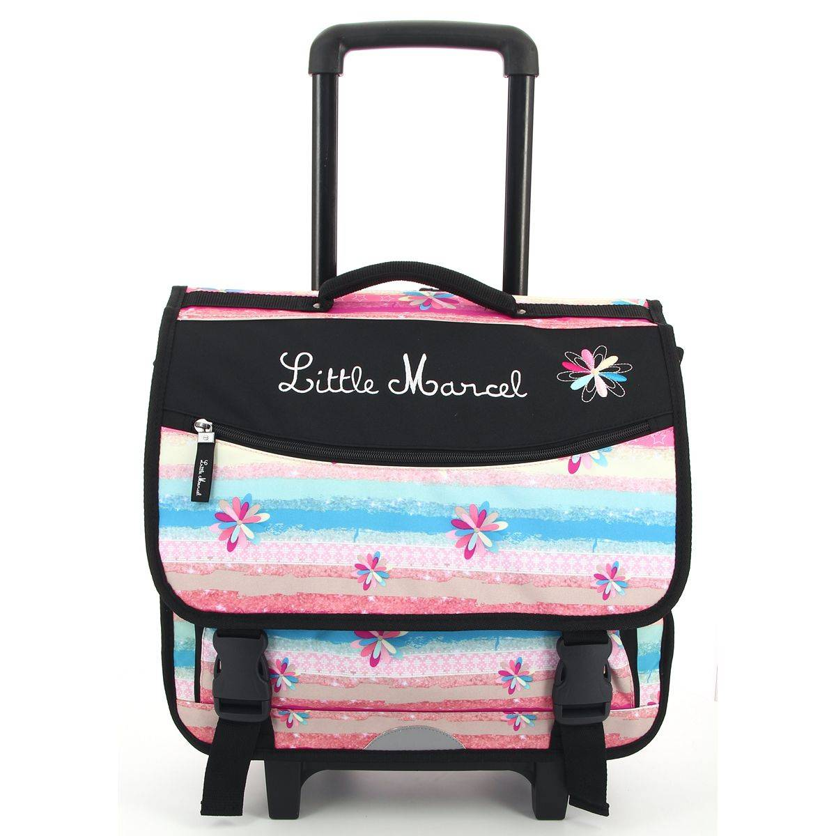 Little marcel cartable roulettes rachida enfant fermoir rachida - Code promo little marcel frais de port ...