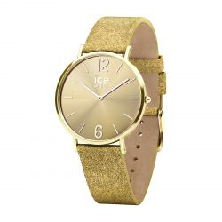 Ice Watch - Montre City Sparkling Glitter Gold S (015087)