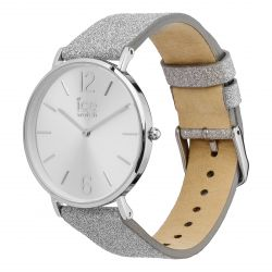 Ice Watch - Montre City Sparkling Glitter Silver S (015086)