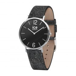 Ice Watch - Montre City Sparkling Glitter Black S (015088)