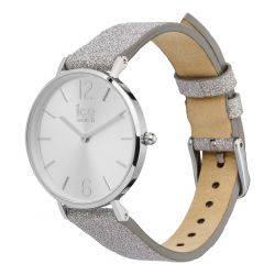 Ice Watch - Montre City Sparkling Glitter Silver (015080)