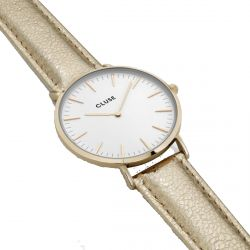 Cluse - Montre La Bohème Gold White/Gold Metallic (cl18421)