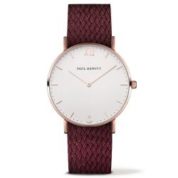 Paul Hewitt - Montre Sailor perlon cerise (ph-sa-r-sm-w-19)
