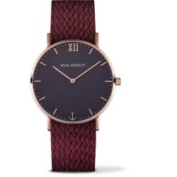 Paul Hewitt - Montre Sailor perlon cerise (ph-sa-r-st-b-19m)