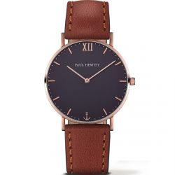 Paul Hewitt - Montre Sailor cuir marron (ph-sa-r-st-b-1m)