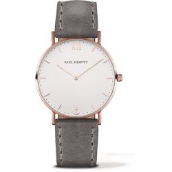 Paul Hewitt - Montre Sailor cuir gris (ph-sa-r-st-w-13)