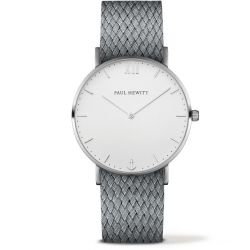 Paul Hewitt - Montre Sailor perlon gris (ph-sa-s-sm-w-18)