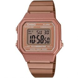 Casio - Montre Casio Collection doré rose (b650wc-5aef)