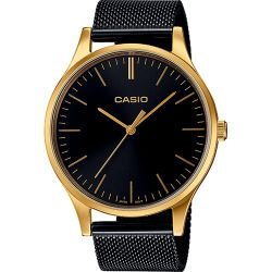 Casio - Montre Casio Collection maille milanaise noire (ltp-e140gb-1aef)