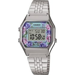 Casio - Montre Casio Collection métal argenté (la680wea-2cef)