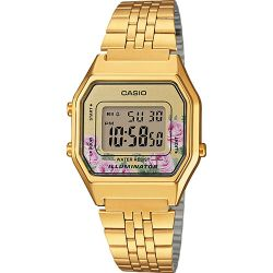Casio - Montre Casio Collection métal doré (la680wega-4cef)