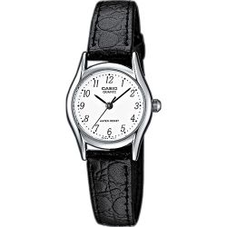 Casio - Montre Casio Collection cuir noir (mtp-1154pe-7bef)