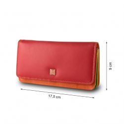 Dudubags - Grand portefeuille Colorful RFID Canarie (534-1162)