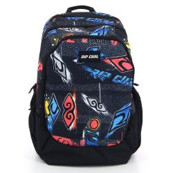 Rip Curl - Sac à dos 3 compartiments 35L Trischool Brush Stokes (bbpux2)
