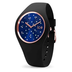 Ice Watch - Montre Ice Cosmos Swarovski silicone noir (016298)