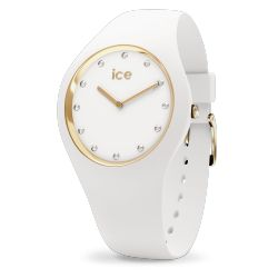 Ice Watch - Montre Ice Cosmos Swarovski silicone blanc (016296)