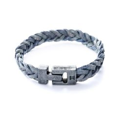 Gemini - Bracelet Special Leather Grey (s13)