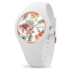 Ice Watch - Montre femme bracelet silicone Ice Flower Legend (016661)