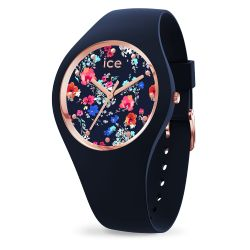 Ice Watch - Montre femme bracelet silicone Ice Flower Colored Grove (016664)