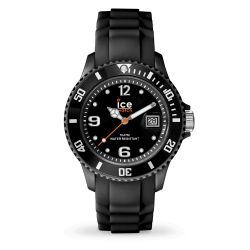 Ice-Watch - Montre enfant bracelet silicone noir Ice Forever (000123)