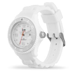 Ice-Watch - Montre enfant bracelet silicone blanc Ice Forever (000124)