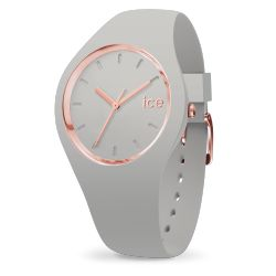 Ice-Watch - Montre femme bracelet silicone gris Ice glam Pastel (001066)