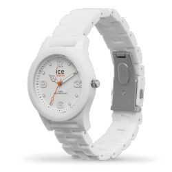 Ice-Watch - Montre homme bracelet polyamide blanc Ice Slim (015776)