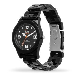 Ice-Watch - Montre homme bracelet polyamide noir Ice Slim (015777)