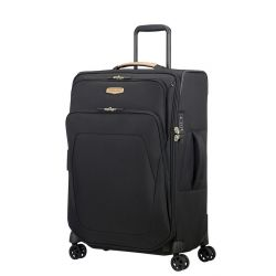 Samsonite - Valise souple taille moyenne extensible 4 roues 67cm 82/92 litres Spark SNG Eco (115761)
