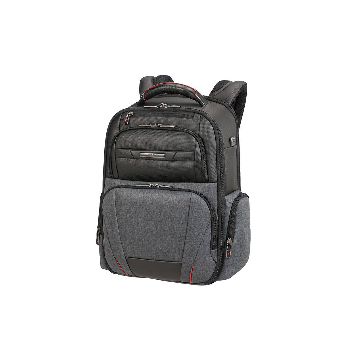 construction rationnelle couleur n brillante haut fonctionnaire Samsonite - Sac à dos business homme 20 litres ordinateur 15