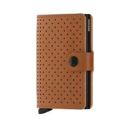 Secrid - Porte-cartes Miniwallet Perforated cuir pleine fleur (miniwalletperforate)
