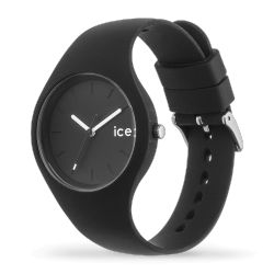 Ice Watch - Montre noire bracelet silicone Ice Ola (000991)