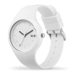 Ice Watch - Montre blanche bracelet silicone Ice Ola (000992)