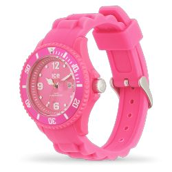 Ice Watch - Montre femme rose bracelet silicone Ice Forever (001464)