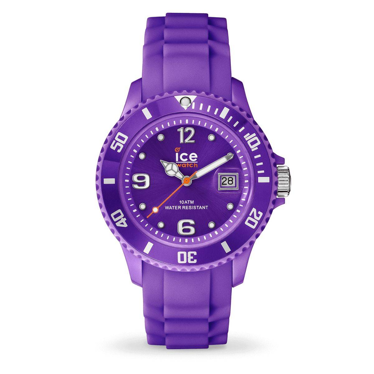 f0a82812b2734 Ice Watch - Montre Violette Bracelet Silicone Ice Forever (000131) Vue  Principale ...