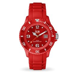 Ice Watch - Montre rouge bracelet silicone Ice Forever (000129)