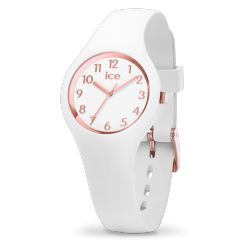Ice Watch - Montre blanche femme bracelet silicone Ice Glam (015343)